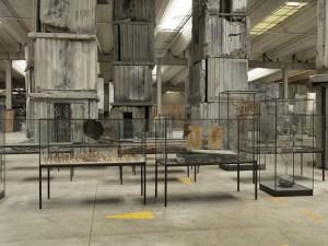 Vue de l'atelier Croissy, Anselm Kiefer photographe georges poncet