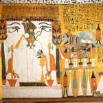 Paroi nord. Le kiosque d'Osiris.Assemblage numérique.