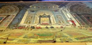 Diorama de Rome, photographe George Poncet
